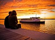 Sunset at National Harbor, Maryland