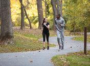 Runners in Rock Creek Park - Outdoor activities in and around Washington, DC