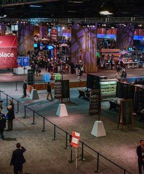 Walter E Washington Convention Center AIPAC marketplace - Washington DC