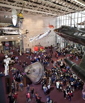 Boeing Milestones of Flight Hall - Smithsonian National Air & Space Museum