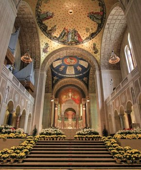 The Basilica of the National Shrine of the Immaculate Conception Sanctuary - Washington, DC