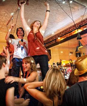 Dancing at La Boum - Brunch in Washington, DC