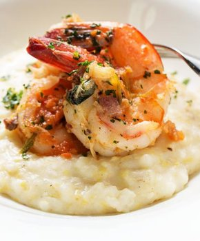 Shrimp and Grits at Sweet Home Cafe - National Museum of African American History and Culture - Where to Eat on the National Mall