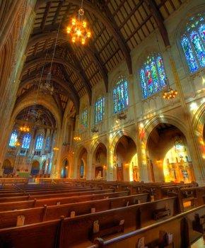St. Dominic's interior chapel