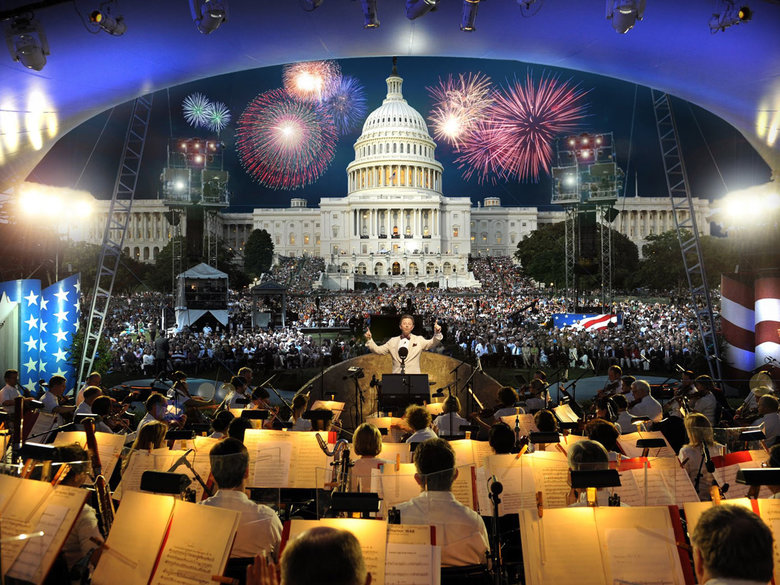 4th of July concert at the U.S. Capitol - Washington, DC