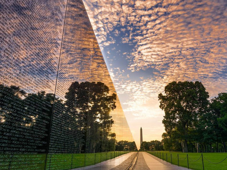 @506thcurrahee - Vietnam Veterans Memorial at Sunrise - Washington, DC