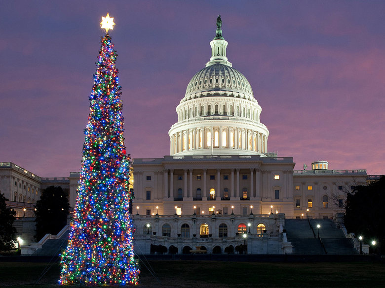 U.S. Capitol Christmas Tree - Holiday Displays in Washington, DC