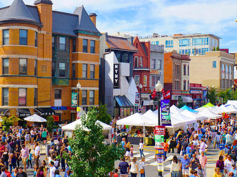 18th Street on Adams Morgan Day