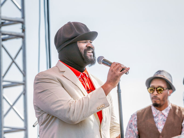 Gregory Porter performing at the DC Jazz Festival - Summer music festivals in Washington, DC