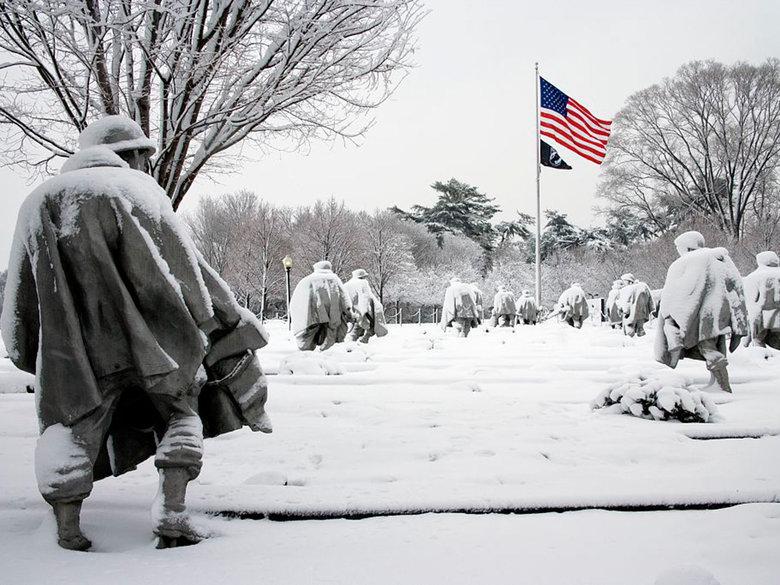 Korean War Veterans Memorial - National Mall - Washington, DC