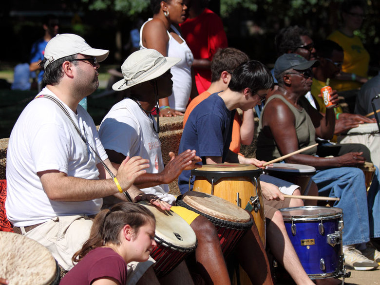 Meridian Hill Park Drum Circle - Washington, DC