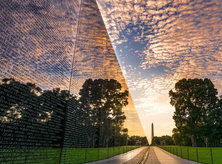 @506thcurrahee - Sunrise at the Vietnam Veterans Memorial - Washington, DC