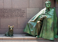 Franklin Delano Roosevelt Memorial - National Mall - Washington, DC