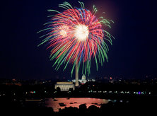 Fourth of July Fireworks over the National Mall - Things to Do Independence Day Weekend in Washington, DC