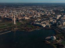 Washington, DC Aerial View