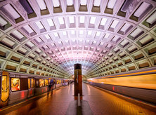 Foggy bottom metro station
