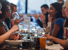 Diners at Rappahannock Oyster Co. - Places to Eat at Union Market - Washington, DC