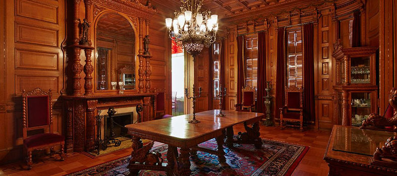Take a public tour of the Brewmaster's Castle at Heurich House Museum
