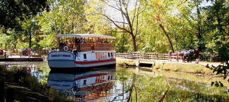 Take a C&O Canal Boat Ride