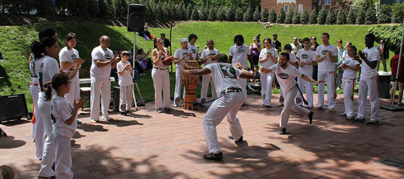 Enjoy dancing demonstrations from a variety of cultures.