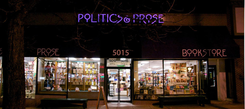 Read up at Politics & Prose