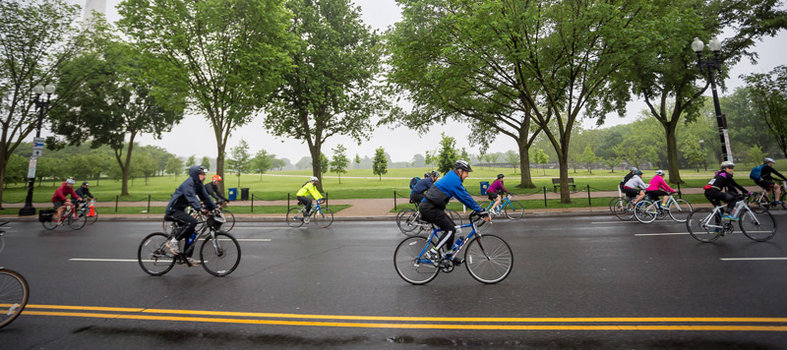 Pedaling at your own pace is no problem.