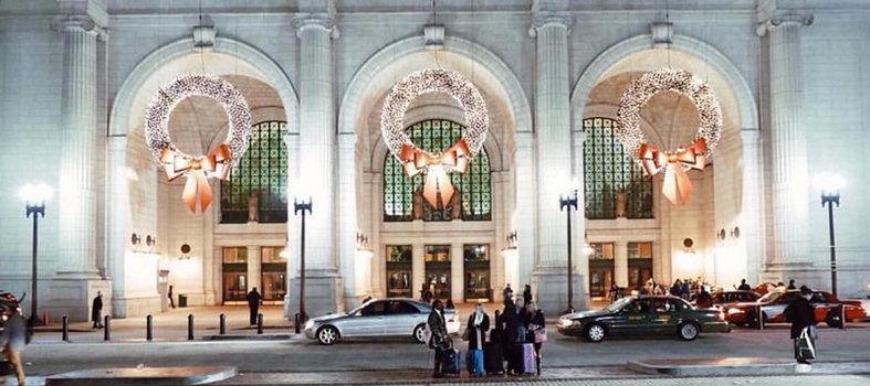 Marvel at Union Station: holiday destination