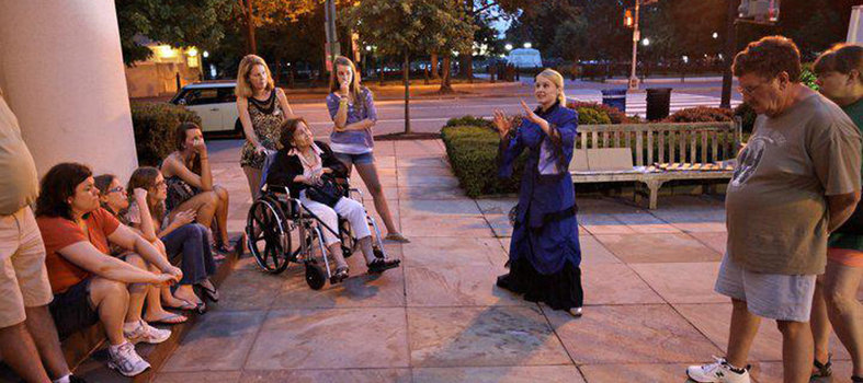 DC Ghost Tours: Ghosts of Lafayette Park & Capitol Hill Haunts