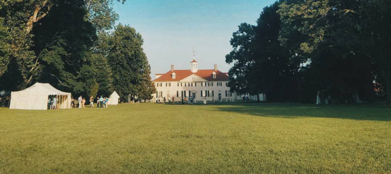 Visit the former home of George Washington