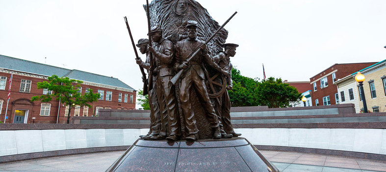 Learn about history at the African-American Civil War Memorial