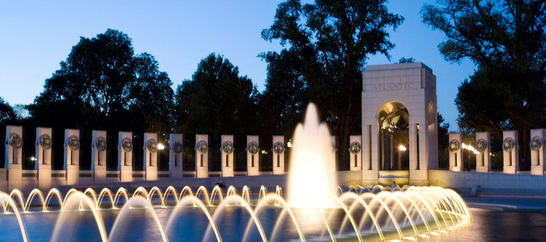 Honor the World War II Veterans at the National World War II Memorial