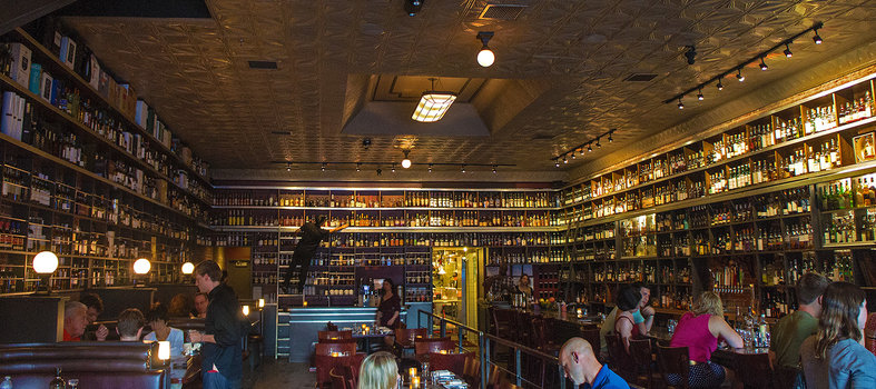 Whiskey is the star at Jack Rose Dining Saloon