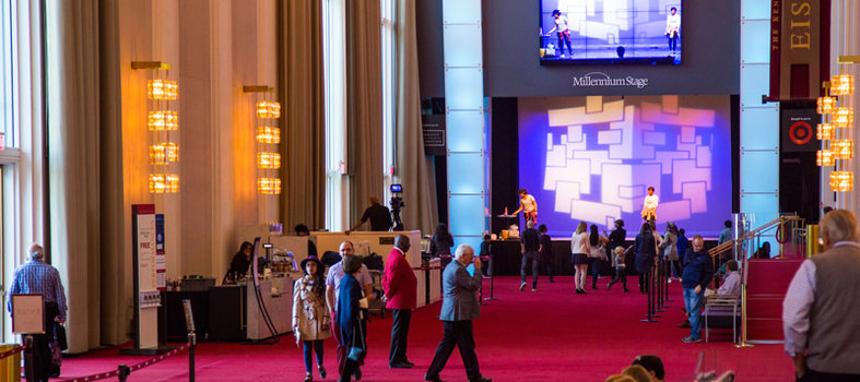 Free performances every day at the Kennedy Center