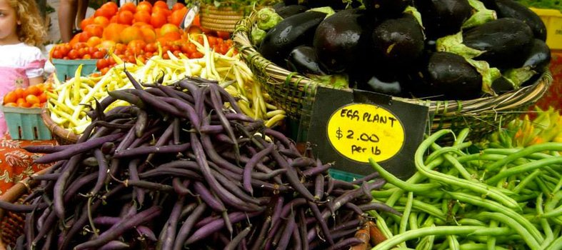 Visit the Mount Pleasant Farmers' Market