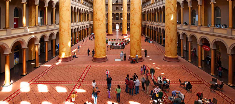 Step foot inside the National Building Museum