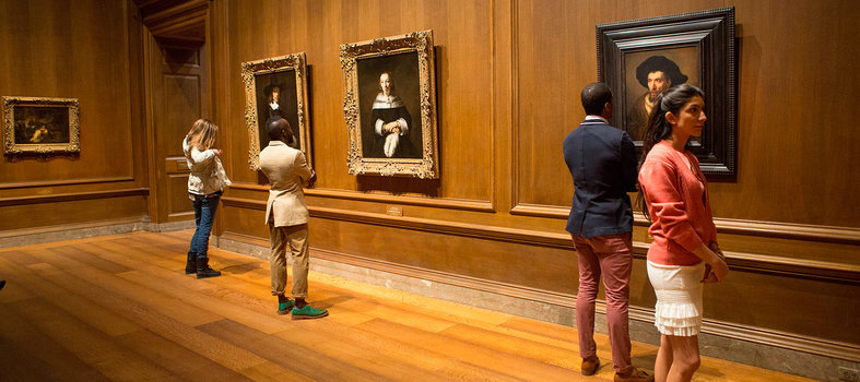 Get up close with classics at the National Gallery of Art