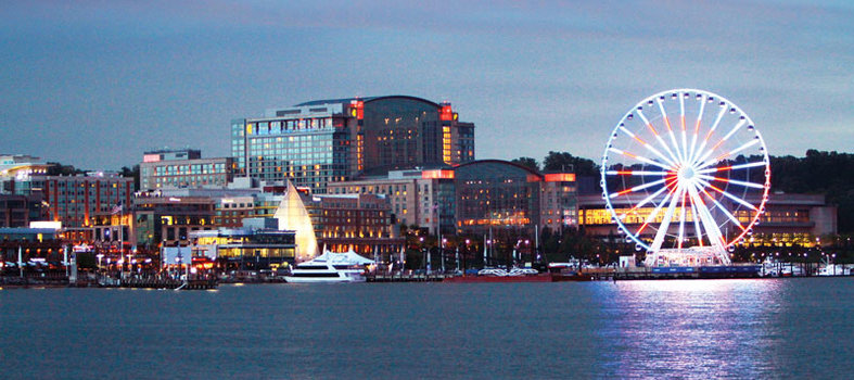 Shop, eat and ride the Ferris wheel at National Harbor