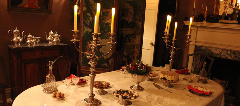 Make Tudor Place your home for the holidays