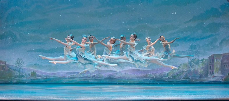 Watch ballerinas leap through the air at the Kennedy Center