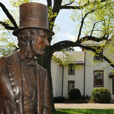 President Lincoln's Cottage and Statue