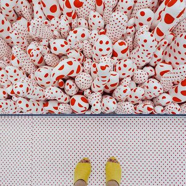 @sararassi - Yayoi Kusama Infinity Mirrors Exhibit at the Hirshhorn Museum - Things to Do in Washington, DC
