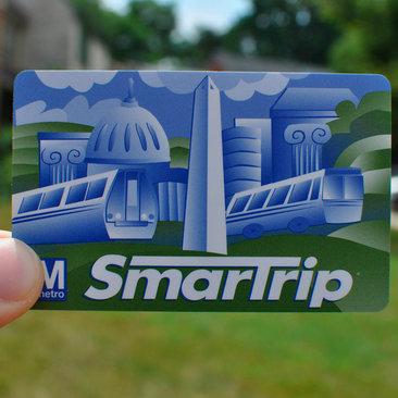 WMATA SmartTrip Card