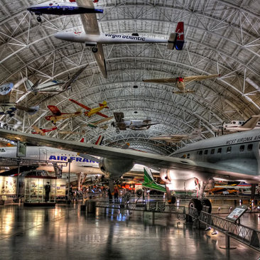 Steven F. Udvar-Hazy Center - Air and Space Musuem - Museums and Attractions near Washington, DC