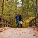 Couple Walking in Rock Creek Park - Parks & Outdoor Activities in Washington, DC