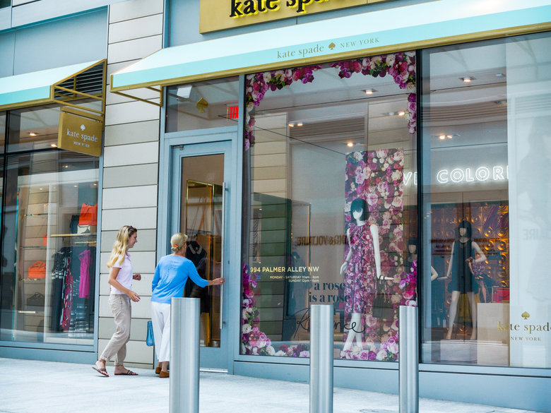 Shopping at Kate Spade